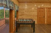 Large 6 Bedroom Cabin with Foosball Table