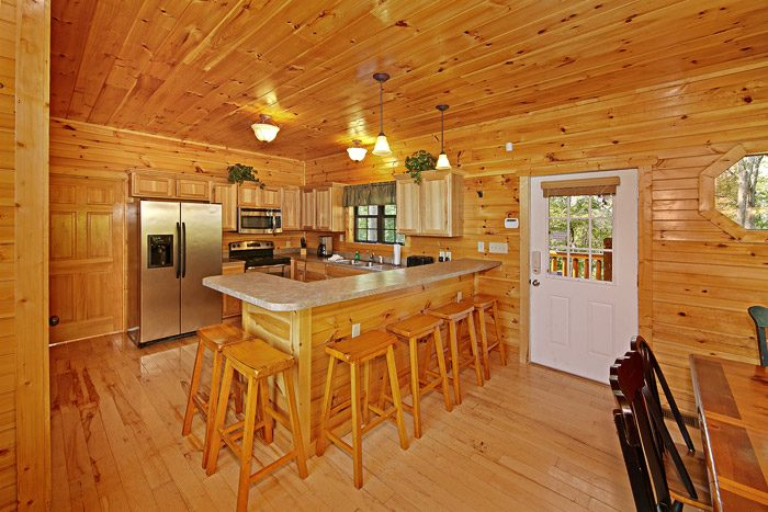 Cabin with Stainless Steel Appliances - 1 In A Million