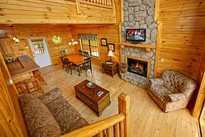 Cabin with Open Floor Plan - 1 In A Million