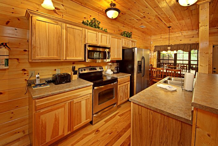 Cabin with Fully Equipped Kitchen - 2 Good to be True