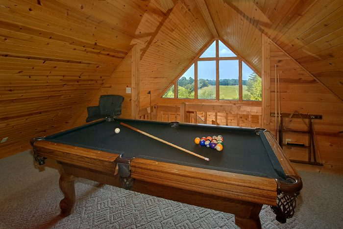 Premium Cabin with Pool Table and Theater - 2 Tranquil 4 Words