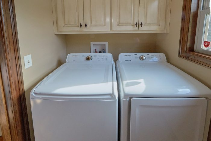 Full Size Washer and Dryer on Main Floor - 2nd Choice
