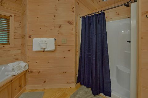 Spacious Bathroom with Shower - 3 Little Bears