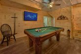 Smoky Mountain 5 Bedroom Cabin with Pool Table