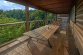 Smoky Mountain 5 Bedroom Cabin Outdoor Seating