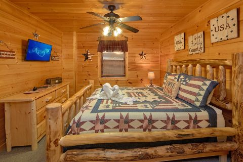 Pigeon Forge 3 Bedroom Cabin Sleeps 6 - 4 Paws