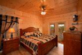 Premium Master Bedroom in Four Bedroom Cabin
