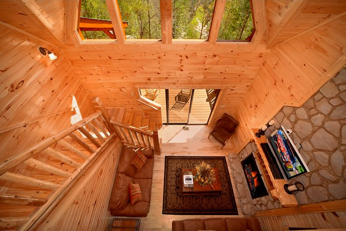 Large Spacious 3 Level Pigeon Forge Cabin - 4 Your Pleasure