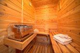 Smoky Mountain Cabin with Luxurious Sauna