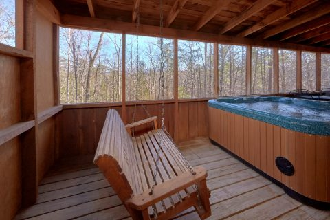 2 bedroom cabin with Hot Tub - A Bear Adventure