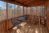Rustic cabin with screened porch and Hot tub