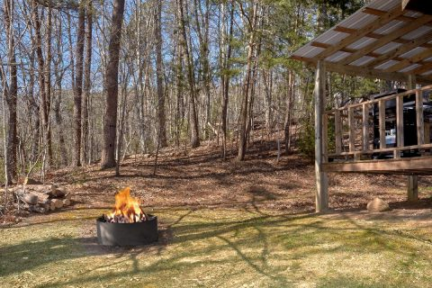 Wears Valley 2 Bedroom cabin with fire pit - A Bear Adventure