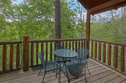 Cabin with Home Theater and Wooded Views - A Bear Affair