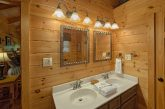 Premium 2 bedroom cabin with private master bath
