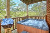 Premium 2 bedroom cabin with private hot tub