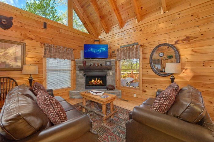 Premium 2 bedroom cabin with sleeper sofa - A Bear Endeavor
