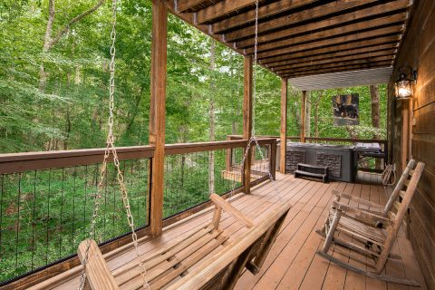 Secluded 2 Bedroom Cabin with Swing - A Bear's View