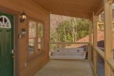 Smoky Mountain 2 Bedroom Cabin with Porch Swing