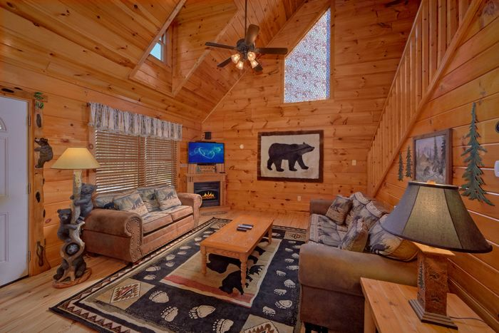 Fully Furnished Living Room - A Beary Special Place