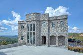 Luxury stone Castle rental cabin in Gatlinburg