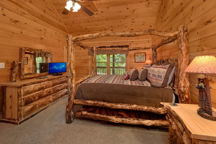Pigeon Forge Cabin with 2 Queen Beds - A Cozy Cabin