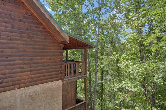 2 Bedroom Cabin with a Wooded View - A Cozy Cabin
