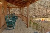 Large Deck with Rocking Chairs 2 Bedroom Cabin