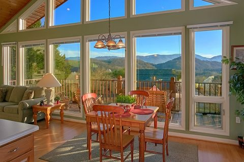 Spacious Dining Area with Views of the Mountains - A Dream Come True