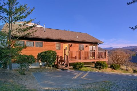 Private Pigeon Forge Cabin with 2 Bedrooms - A Dream Come True