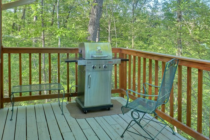4 bedroom cabin with Gas Grill and wooded view - A Fieldstone Lodge