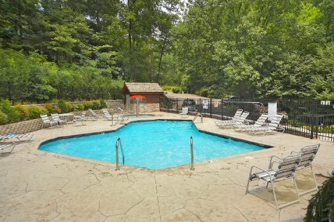 Black Bear Falls Resort Pool - A Grand Getaway