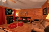 3 Bedroom Cabin Theater Room and Seating