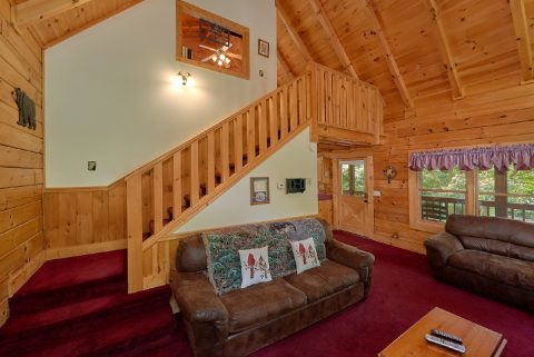 2 Bedroom Cabin with a Loft - A Happy Haven