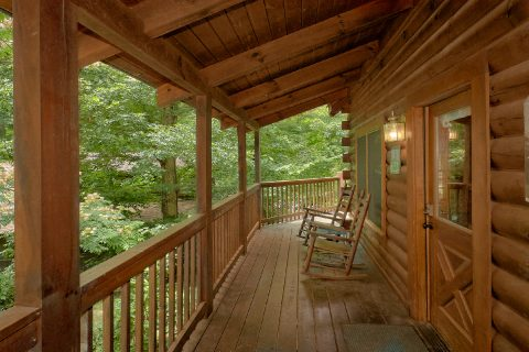 Smoky Mountain Cabin with a Covered Deck - A Happy Haven