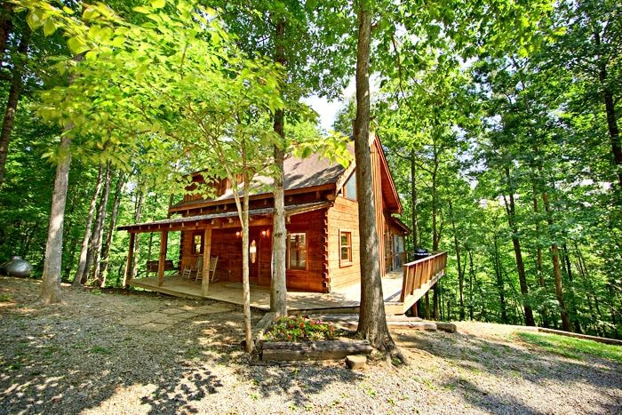 A Hidden Mountain 360 Cabin Rental Photo