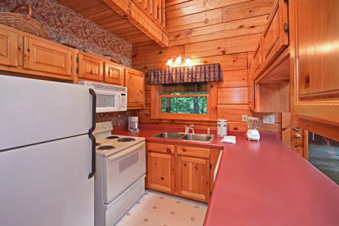 Fully Equipped Kitchen - A Hidden Mountain 360