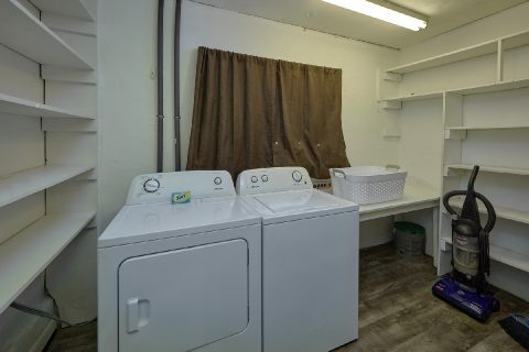 Laundry Room Full Size Washer and Dryer - A Hop Skip and a Jump