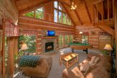 2 Bedroom Cabin with Stone Fireplace