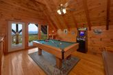 Cabin with Mountain Views, Pool Table and Arcade