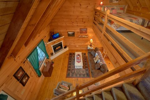 2 Bedroom Cabi Sleeps 6 with Loft - A Little Bit Of Lovin'
