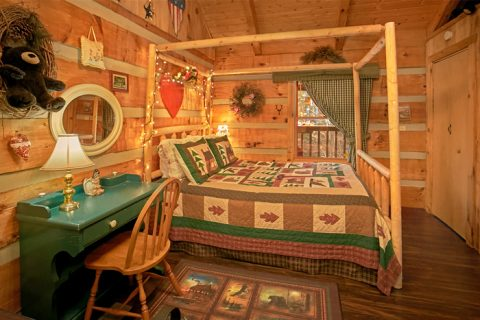 1 Bedroom Cabin with dressing table and jacuzzi - A Love Nest