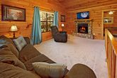 Spacious Living Room in Cabin