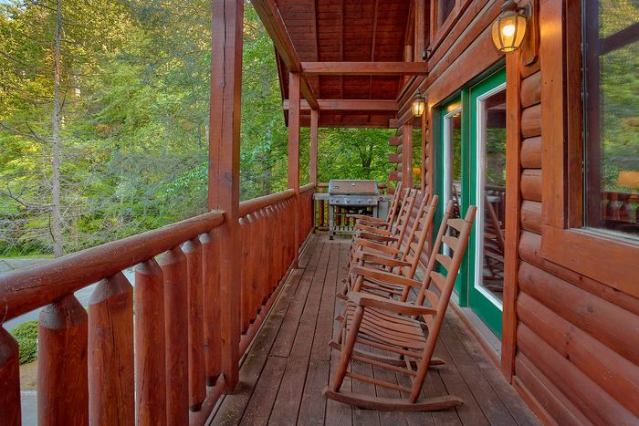Cabin with Wooded View - A Mountain Lodge