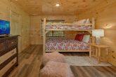 Private hot tub at 5 bedroom resort cabin
