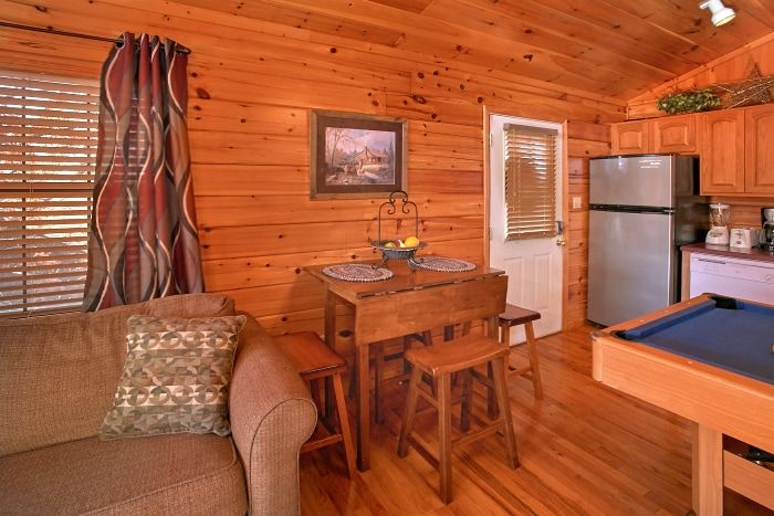 1 Bedroom Cabin with Dining Seating - A New Beginning