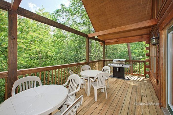 Premium Cabin with Gas Grill and Deck - A Perfect Stay