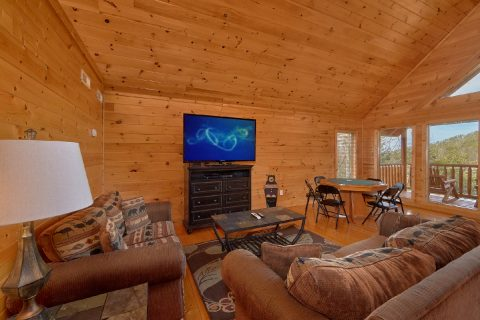 4 Bedroom Cabin with Extra Seating in Game Room - A Rocky Top Ridge