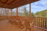 Covered Deck with Rocking Chairs 4 Bedroom