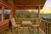Rustic 1 Bedroom Cabin in Sevierville Sleeps 4