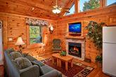 Premium 1 Bedroom Cabin with Living Room